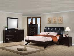 coaster phoenix upholstered bedroom set deep cappuccino 300356