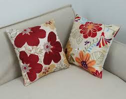 cheap decorative pillow set spring home decor classic floral