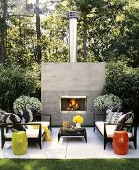 stay warm in style modern fireplaces outdoor spaces spaces and
