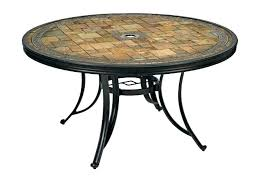 outdoor glass table top replacement round outdoor table top livingonlight co