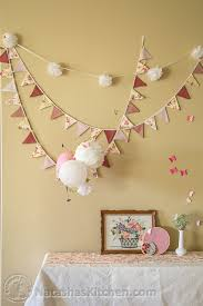 shabby chic baby shower party menu u0026 baby registry ideas