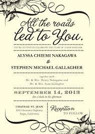 wedding invitation sles wedding invitations free sles popular wedding invitation 2017