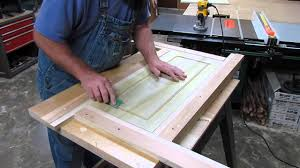 Kitchen Cabinet Doors Mdf Making A Door Jig Youtube