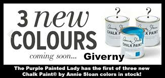 giverny annie sloan u0027s newest chalk paint color the purple