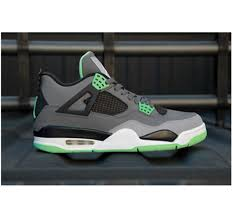 green glow 4 cheap for sale air 4 women shoes green glow all