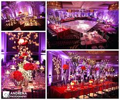 Red And Gold Reception Decoration Red And Purple Wedding Decorations Orange Purple And Pink Wedding