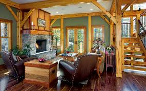 timber frame home interiors 10 ways to a splash with color
