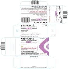 abstral sublingual tablet fda prescribing information side