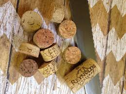 wine cork ornament the house
