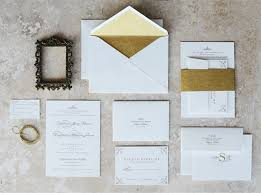 wedding invitations and gold gold edge painted wedding invitations