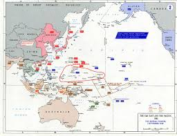 World War Ii Maps by General Maps About The Far East And The Pacific During The Ww Ii