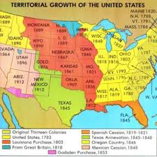 1820 Map Of United States by The United States Did Not Always Own All Of The Land That Makes Up