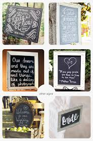 wedding quotes signs five ways to use chalkboards