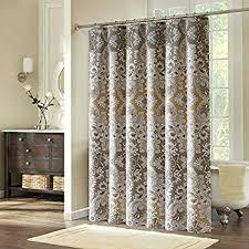 Neutral Shower Curtains 72x72 Shower Curtain Fabric Mildew Resistant Ufriday