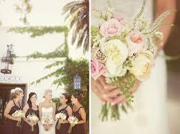 Wedding Flowers August Stephanie Brian U0027s Vintage Outdoor Real Wedding Green Wedding