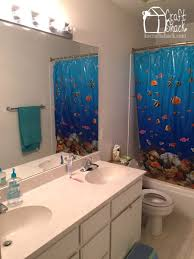 Kids Bathroom Makeover - budget bathroom makeover craft shack chronicles
