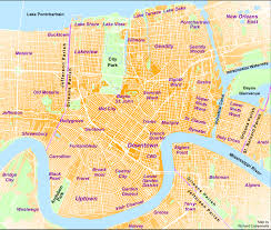 New Orleans Zip Code Map Wonderful Garden District New Orleans Walking Tour Map Our Covered
