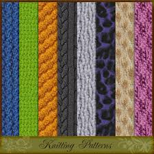 knitting patterns 2d atenais