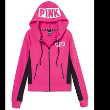 pink vs sweaters pink s secret pink vs zip hoodie nwt firm from