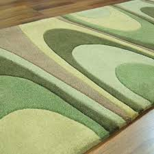 Www Modern Rugs Co Uk Ha10 15 Warp Green Runner Rugs Buy At Modern Rugs Uk