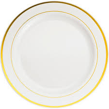 celebrate plate buy the banquet plates with gold trim by celebrate it at