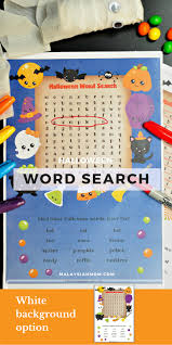 halloween word search kids u0027 fun worksheets malaysian mom