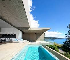 Interior Spaces by Minimalist Concrete House With Intimate Interior Spaces And