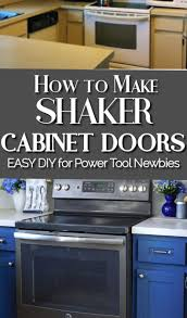 how to make shaker style kitchen cabinets make shaker kitchen cabinet doors on a budget shaker style