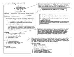 What Does A Job Resume Look Like Best 25 High Resume Ideas On Pinterest Resume Templates