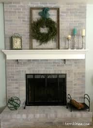what color should i paint my brick fireplace home interiror and