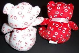 valentines day teddy bears s day teddy bears hugs kisses mini 4 party favors