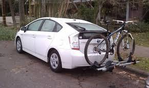 toyota prius bike rack 29er bike rack on a prius mtbr com