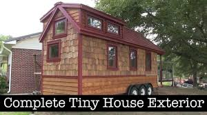 tiny house completed exterior from tumbleweed shell youtube