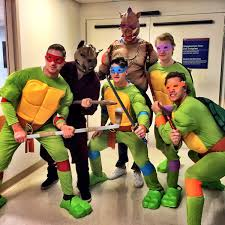 scary halloween party ideas for teenagers bruins annual visit to children u0027s hospital never disappoints