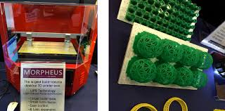 morpheus resin 3d printer with new lips technology unveiled at