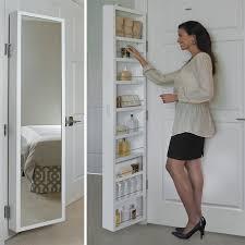 Bathroom Mirror With Storage by Best 25 Behind Door Storage Ideas On Pinterest Broom Storage