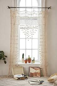 Boho Window Curtains Boho Window Curtains Boutique Best Bohemian Ideas On Crochet