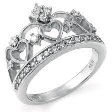crown wedding rings sterling silver crown wedding ring kingswayjewelry