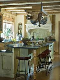 english country kitchens with weathered barn beams and plaster