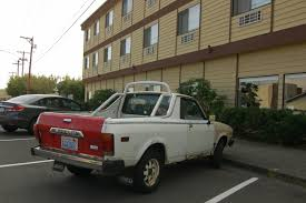 brat car old parked cars 1979 subaru brat 4wd