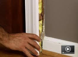 Exterior Door Casing Replacement How To Install Door Casing Buildipedia
