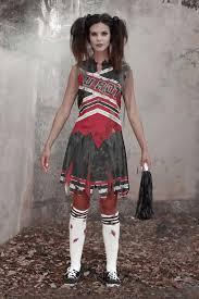 zombie cheerleader costume for women chasing fireflies
