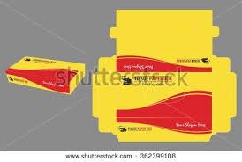 tissue paper box minimalist tissue paper box stock vector 382494106