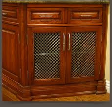 Entertainment Center Cabinet Doors Wire Mesh Grille Inserts For Accent Cabinet Doors Walzcraft