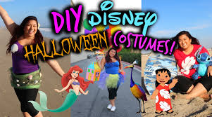 diy disney halloween costumes fast easy u0026 cheap youtube
