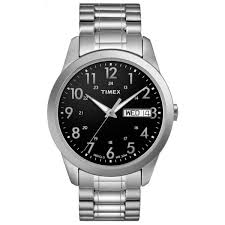 mens stainless steel bracelet watches images Shop timex men 39 s t2m932 stainless steel elevated classics jpg