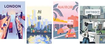 Havana Airbnb by The Return Of The Travel Poster U2013 Airbnb Design