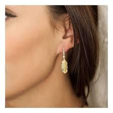 rox diamond earrings lyst rox diamonds and thrills tiki diamond earrings