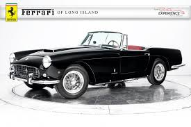 convertible ferrari used 1962 ferrari 250 gt cabriolet series ii for sale plainview ny