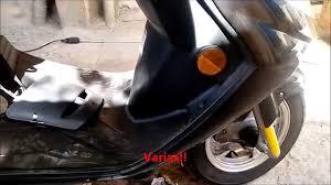 cambio de aceite en scooter suzuki an125 youtube